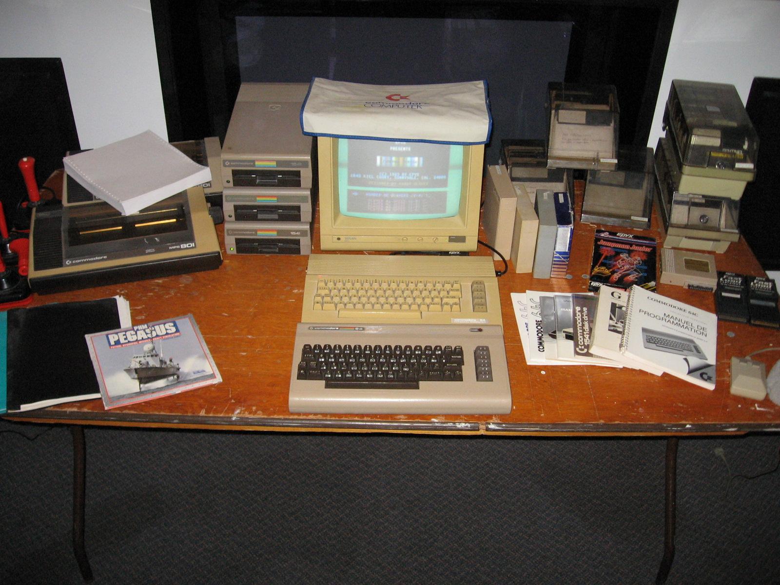 Commodore 64 for sale - Commodore ca: The PET, VIC, 128, 64