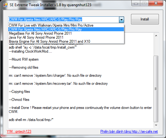 [Xperia Play] TUTORIEL n°2 – installer ClockWorkMod recovery Tuto2---logiciel-recovery-33e793c